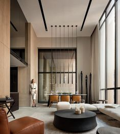 Spectacular Contemporary Living Room Interior Designs Ideas To Try There maybe hundreds of different contemporary living room styles, but the easiest way to begin to get the contemporary look … Contemporary Interior Design, Luxury Interior Design, Contemporary Living Room Designs, Modern Living Room Design, Contemporary Kitchens, Contemporary Furniture, Interior Ideas, Contemporary Design, Space Planning