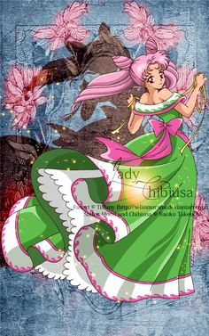 Lovely Lady - Chibiusa by selinmarsou on deviantART