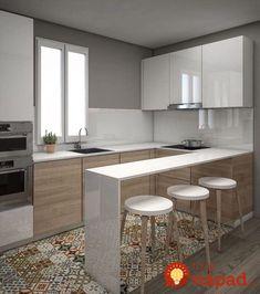 Máte úzku kuchyňu v paneláku, alebo jednoducho pri navrhovaní interiéru vášho domu alebo bytu nezvýšilo na kuchyňu viac miesta?