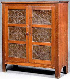 punched tin pie safe - Google Search