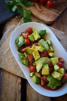 Das beste Rezept für frischen Avocado Tomaten Salat