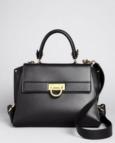 Salvatore Ferragamo's right-sized, structured satchel makes any look it's paired with instantly polished. Purse Game, Salvatore Ferragamo Shoes, Gifts For Wife, Me Too Shoes, Purses And Bags, Shoulder Bag, Shoe Bag, Luxury Designer, Designer Bags