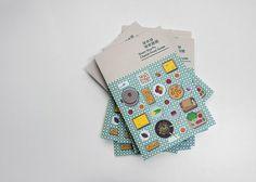 Sham Shi Po Cherish Food Guide by Jim Wong, via Behance