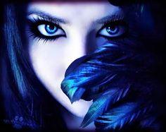 A dark fantasy fairy Fantasy Eyes, 3d Fantasy, Fantasy World, Fantasy Art Women, Fantasy Witch, Gothic Fantasy Art, Fantasy Landscape, Montage Photo, Dark Beauty