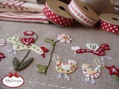 felt embroidery -- El Blog de Georgina