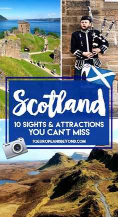 Scotland Itinerary: 10 Sights and Attractions You Can't Miss via @marievallieres #scotlandtravel
