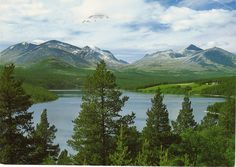 Utsikt over Rondane fra Vingelen.