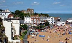 Broadstairs England - Beach Front