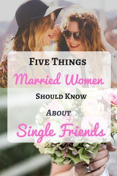 Are you a married woman with single friends and you've noticed that your relationship is no longer as it used to be before marriage? Here are five things that can help rekindle your friendship