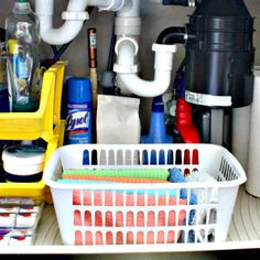 A Fast Organize Project Under the Kitchen Sink