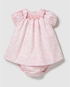 Vestido de bebé niña Dulces estampado con lazos