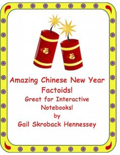 Chinese New Year Factoids(Interactive Notebook Activity)