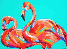 flamingos - ANYA BROCK