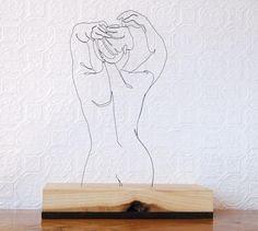 Escultura con Alambres de Garvin Worth