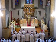 New Liturgical Movement: Missa Chrismatis in the Extraordinary Form in the Archdiocese of Vaduz