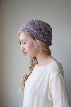 www.etsy.com/listing/94025567/purple-beret-slouchy-beanie-lavender-hat #ghdpastel