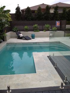 20 Swimming Pool Ideas Beautiful - Increasing Your Swimming Pool Area. Welcome to our custom swimming pool design ideas where we feature many terrific pool designs including in-ground. Small Swimming Pools, Small Backyard Pools, Backyard Pool Landscaping, Backyard Pool Designs, Pool Fence, Swimming Pool Designs, Landscaping Design, Backyard Ideas, Fence Ideas
