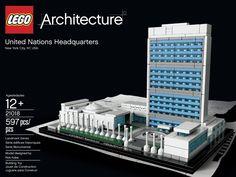 LEGO 21018 Architecture United Nations Headquarters