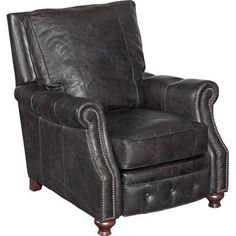 Shop this hooker furniture old saddle dark wood recliner chair from our top selling Hooker Furniture living room chairs. LuxeDecor is your premier online showroom for living room furniture and high-end home decor. My Living Room, Living Room Chairs, Living Room Furniture, Living Area, Club Furniture, Dining Chairs, Condo Furniture, Furniture Chairs, Kitchen Living
