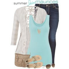 maurices Contest: Summer Lovin' by stay-at-home-mom on Polyvore featuring polyvore fashion style maurices Silver Jeans Co. summerstyle Maurices summer2015