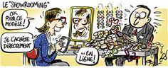 #Showrooming: choisir les articles en magasin et les acheter en ligne