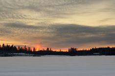 Sunset in Siikaniemi