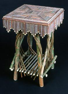 Adirondack Twig End Table