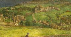 "Richard Eurich, ""From Haworth, Yorkshire"" (1965)"