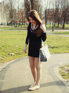 Bonprix , Daniel Wellington | Blog By Paulina #fetishpantyhose #pantyhosefetish #legs #flats #blogger #stiletto #pantyhose #collant #tan