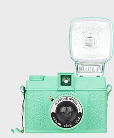 Diana F+ 'Neptune Green' from the Lomography shop #lifeinstyle #greenwithenvy