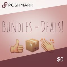 Bundle now and save! Create a bundle! Other