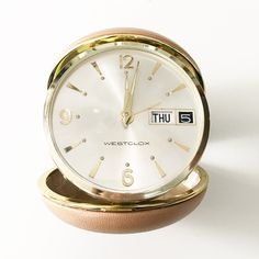 What These Old Things Online Vintage Shop Exclamation Mark, Travel Alarm Clock, Retro Clock, One That Got Away, All That Glitters, Vintage Home Decor, Radios, Vintage Shops, Clocks