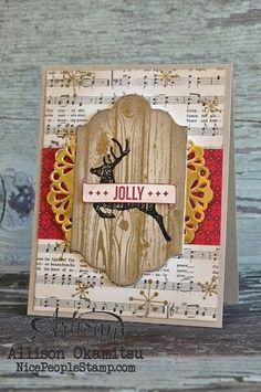 Hello December Project Life: Card & Tags - Stampin' Up! Artisan... | nice people STAMP! | Bloglovin'