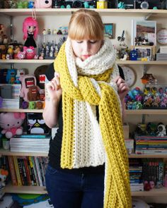 DIY: crochet scarf