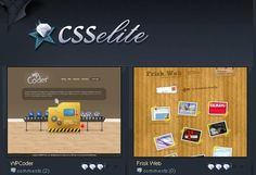 is an inspirational gallery site that collects a wide range of quality design websites (Flash & CSS).