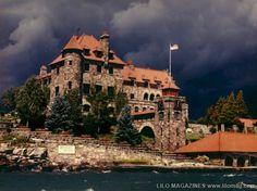 Singer Castle island, USA #castle