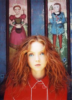 Lily Cole - Italian Vogue