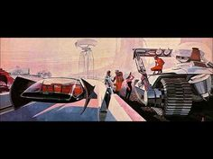 """Sydney Jay Mead, commonly Syd Mead (July 1933 – December 2019 ), was a prolific and influential American """"visual futurist"""", industrial designer and a. Syd Mead, Fictional World, Space Exploration, Blade Runner, Conceptual Art, Science And Technology, Time Travel, Futuristic, Role Models"""