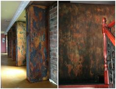 Modern Masters Metal Effects | Wall Finishes by Igor Turovskiy