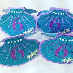Terrific Pic Mermaid shell invitations (individual) Thoughts Expert gifts are generally gifts that could be directed at anyone with birthdays, wedding anni Little Mermaid Birthday, Little Mermaid Parties, The Little Mermaid, Mermaid Birthday Decorations, Mermaid Party Favors, Little Mermaid Invitations, Toddler Dress Up, Felt Headband, Mermaid Shell