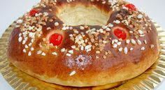 Receta fácil del Roscón de Reyes White Christmas, Bon Appetit, Bagel, Sweet Recipes, Favorite Recipes, Bread, Breakfast, Desserts, Food