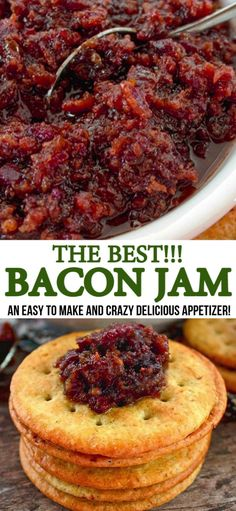 best recipes This Bacon Jam recipe is literally the best in the world. Regardless of what you use it for, topping burgers or simply adorning a cracker with it, your going to love it, ENJOY! Bacon Recipes, Jam Recipes, Canning Recipes, Jelly Recipes, Bacon Jam Recipe Canning, Hot Pepper Bacon Jam Recipe, Maple Bacon Jam Recipe, Hot Pepper Recipes, Candied Bacon