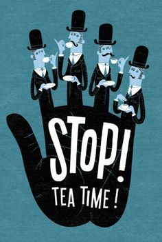 Gosh, seriously, every time I see a reference to tea, I have to go make some.
