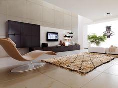 White Minimalist Living Room Interior Design Inspiration