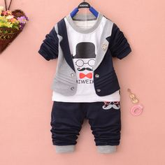image Little Boy Outfits, Toddler Boy Outfits, Little Girl Dresses, Baby Boy Outfits, Kids Outfits, Baby Girl Jeans, Baby Boy Dress, Baby Pants, Baby Boy Fashion
