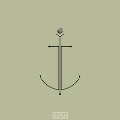 anchor minimal tattoo - Cerca con Google                                                                                                                                                                                 More