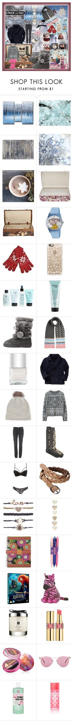 """Pack n Go"" by angelihenkle ❤ liked on Polyvore featuring Liberty, Ingersoll, Casetify, philosophy, Accessorize, Nails Inc., Gap, Neiman Marcus, Chicnova Fashion and BLK DNM"