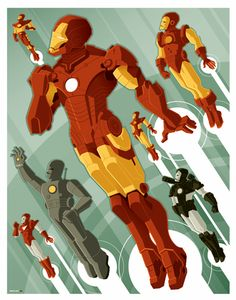 This one's probably my favorite Ironman Illustration :)
