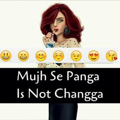 Zaara Sheikh 😉😎🤓 Girly Attitude Quotes, Girl Attitude, Attitude Status, Girly Quotes, Star Quotes, Me Quotes, Laughing Colors, Crazy Jokes, Choices Quotes