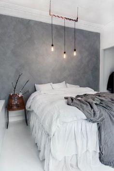 Minimalist Decor Traditional Apartment Therapy rustic minimalist home woods.Minimalist Home White Living Rooms minimalist bedroom girl home decor.Minimalist Home Modern Simple. Gray Bedroom, Home Decor Bedroom, Modern Bedroom, Bedroom Inspo, Bedroom Inspiration, Gray Room Decor, Bedroom Ideas Grey, Charcoal Bedroom, Decor Inspiration